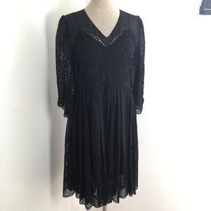Stella McCartney Broderie Anglaise Silk Dress